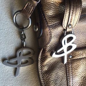 Makowsky Bags - Makowsky bronze color leather crossbody bag